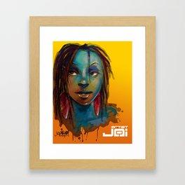 Afro Brazilian Framed Art Print