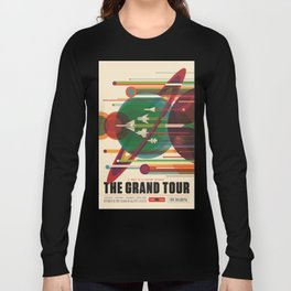 The Grand Tour : Vintage Space Poster Long Sleeve T-shirt