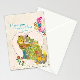 My Kitty Stationery Cards