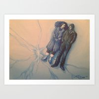eternal sunshine Art Prints featuring Eternal Sunshine  by Nicole Beauvais