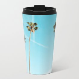 Palm Tree Sunshine Metal Travel Mug