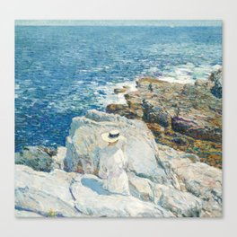 Childe Hassam - The South Ledges, Appledore, 1913 Canvas Print