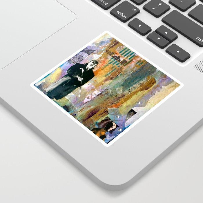 Hello Dalí Sticker