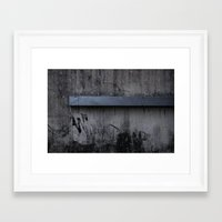 grunge Framed Art Prints featuring Grunge by Brad Nightingale