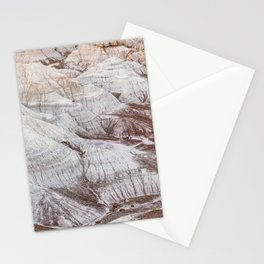 Panoramic landscape of Petrified Forest National Park Stationery Cards