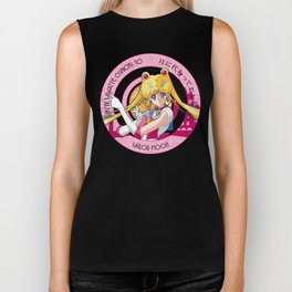 Sailor Moon - Crystal Intro Biker Tank