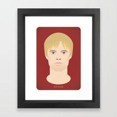 King Arthur Framed Art Print