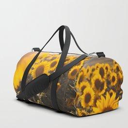 Sunflower's Season (III) Duffle Bag