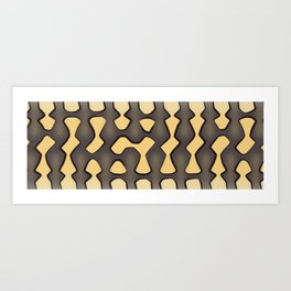 Coastal Carpet Python Art Print
