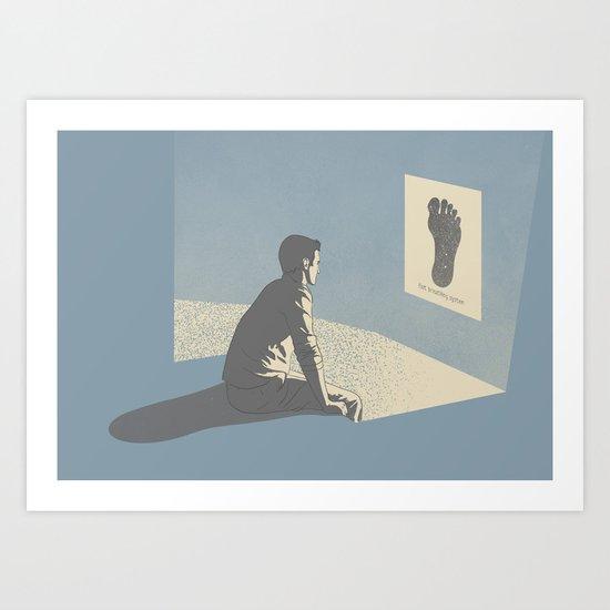SPA Art Print