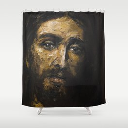 Santa Faz II Shower Curtain
