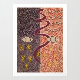 Infinite Space and Infinite Stars Art Print