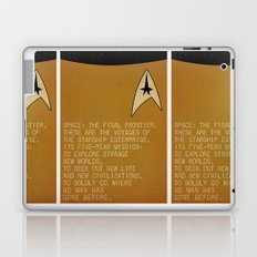 Space: The Final Frontier... Laptop & iPad Skin