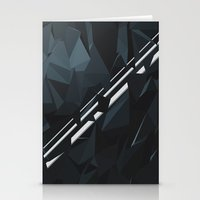 milky way Stationery Cards featuring Milky Way by Elvijs Pūce