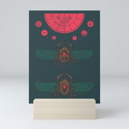 Scarabs Mini Art Print