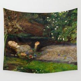 Ophelia, John Everett Millais Wall Tapestry