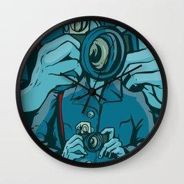 The Public Lens Wall Clock
