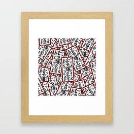 NARUTO: Paper detonator Framed Art Print