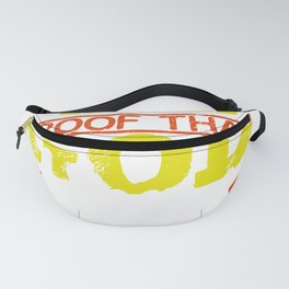 Pizza Lover Gift Pizza Proof that Gods Loves Us Wants Us Happy Pizza Lover Fanny Pack
