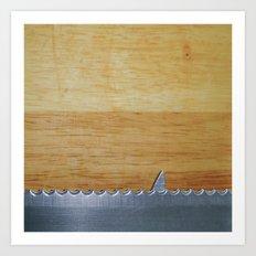 Shark infested breadboard Art Print