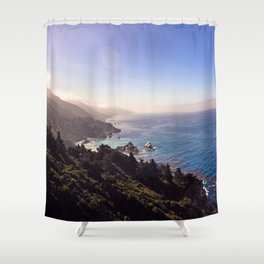 Ephemeral Shower Curtain