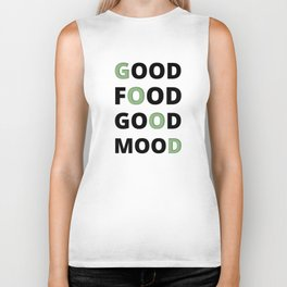 The Food Lover II Biker Tank