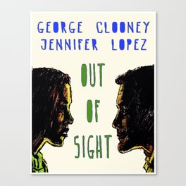 Out of Sight Canvas Print