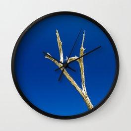 Soaring High in Blue Skies Wall Clock