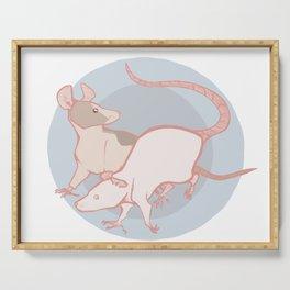 Rats Serving Tray