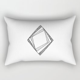 Phase Shift Rectangular Pillow