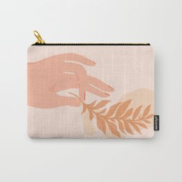 Abstraction_NAMASTE_LOVE_Minimalism_001 Carry-All Pouch
