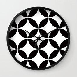 Geometric Pattern #65 (circles) Wall Clock