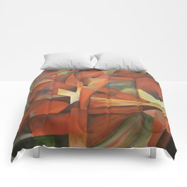 Foxes - Homage to Franz Marc (1913) Comforters