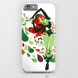 poison ivy iPhone Case