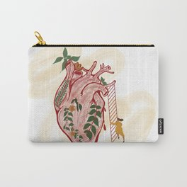 Distance to your Heart Carry-All Pouch
