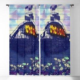 Coney Island Cyclone Blackout Curtain