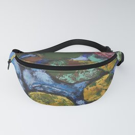 Water Lilies or All Kinds of Emotions /// by Olga Bartysh Fanny Pack