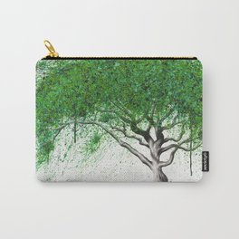 Green Breeze Tree Carry-All Pouch