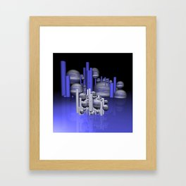in the future -01- Framed Art Print