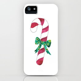 Christmas Season —Candy Canes iPhone Case