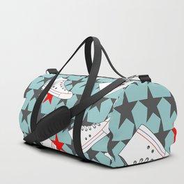 sneakers pattern Duffle Bag