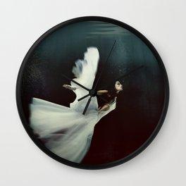 Swan Lake Angel Wall Clock