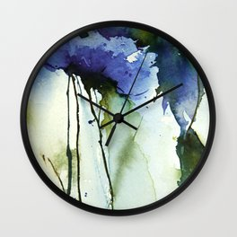 Blue passion Wall Clock