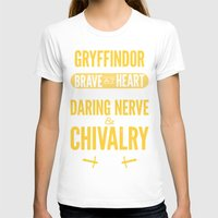 gryffindor T-shirts featuring Gryffindor by Dorothy Leigh