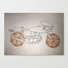 It's Not Delivery. It's Ducati. Canvas Print