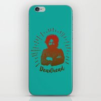 grateful dead iPhone & iPod Skins featuring Grateful Dead, Jerry Garcia by Burnish and Press