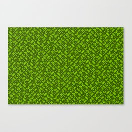 Control Your Game - Tradewinds Lime Canvas Print