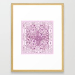 Bear Kaleidoscope ♡ Framed Art Print