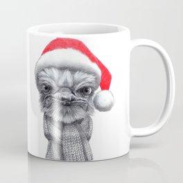 Christmas Ostrich red G145 Coffee Mug