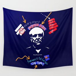 The Fashion Teacher Wall Tapestry